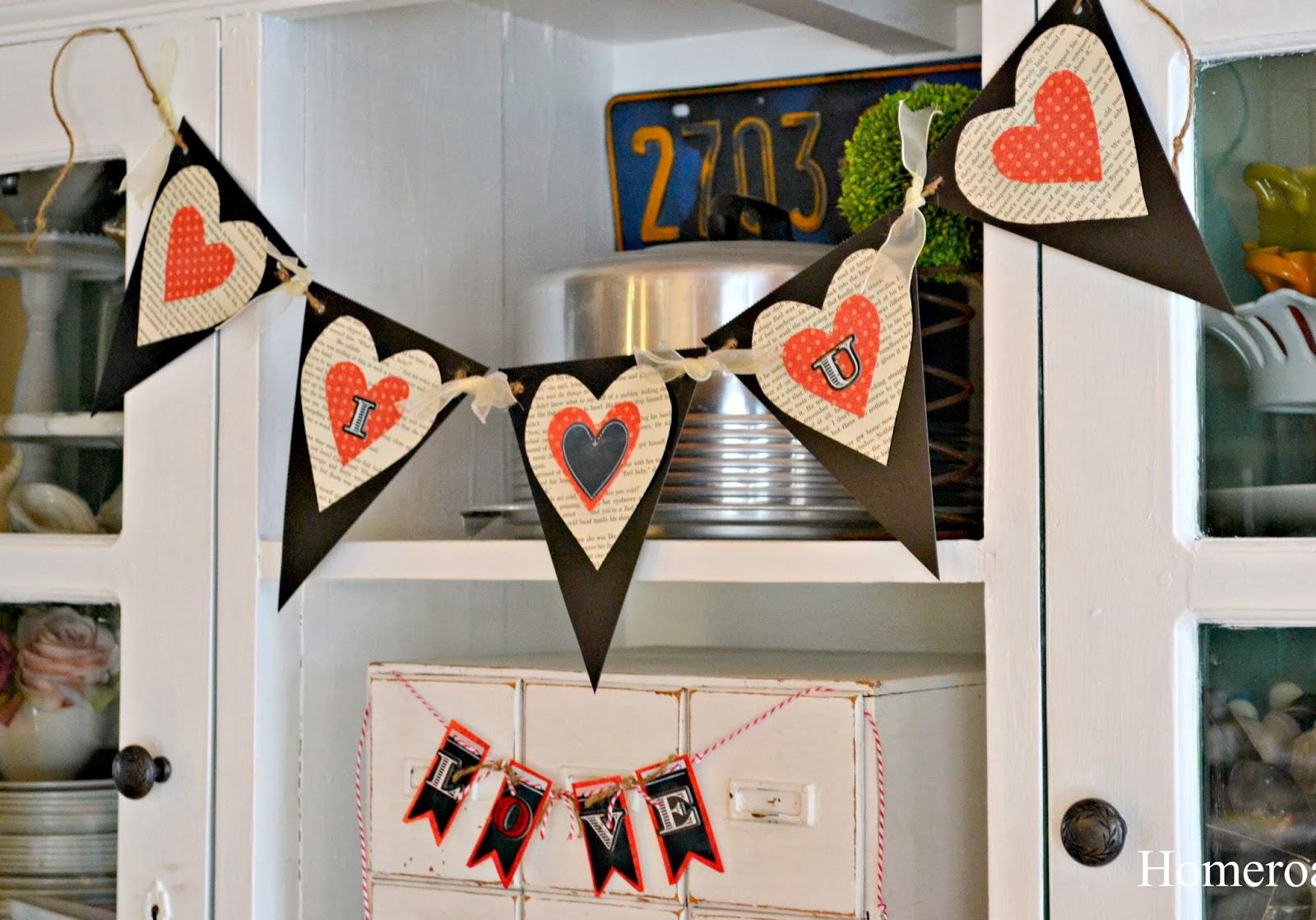 Valentine's Day banners www.homeroad.net