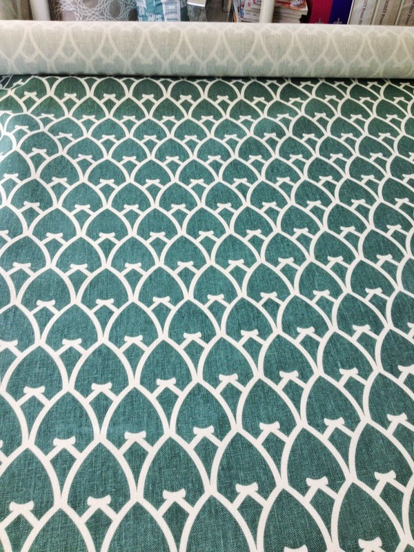 COCOCOZY Arch fabric in Sea Green