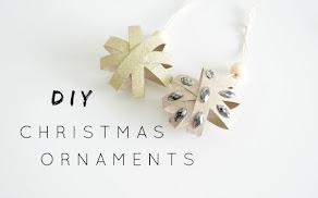 DIY Świąteczne Ornamenty