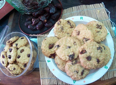 Resep Kue Oatmeal Kurma Cookies