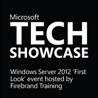 Tech Showcase Server 2012 First Look