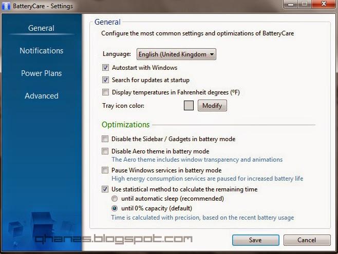 BatteryCare : Aplikasi Monitoring Baterai Laptop