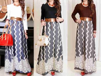 Maxi Dress Chambray + Belt Kode 8029