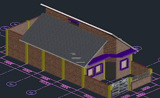 Merancang Rumah Dengan AutoCAD Architecture (Bag 6)