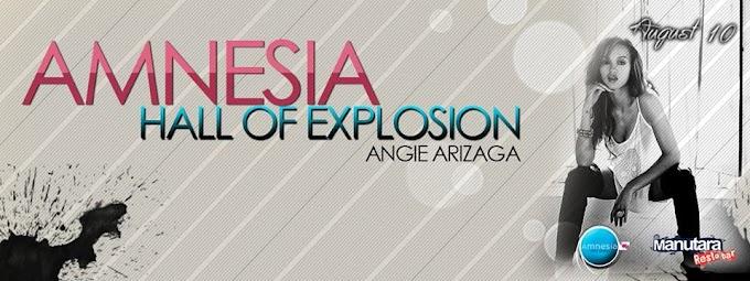 Angie Arizaga de Esto es Guerra en el Manutara (10 agosto)