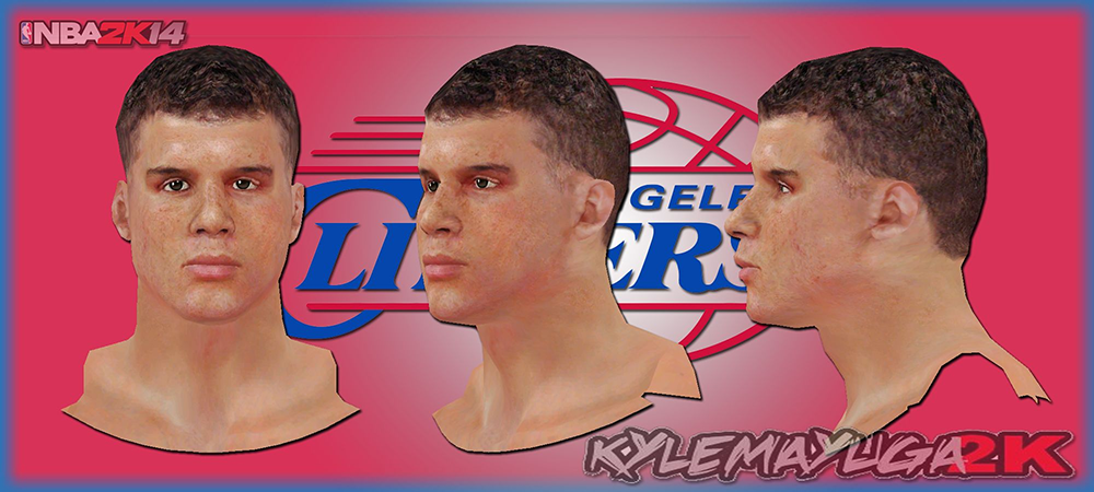 NBA 2K14 Blake Griffin Next-Gen Face Mod