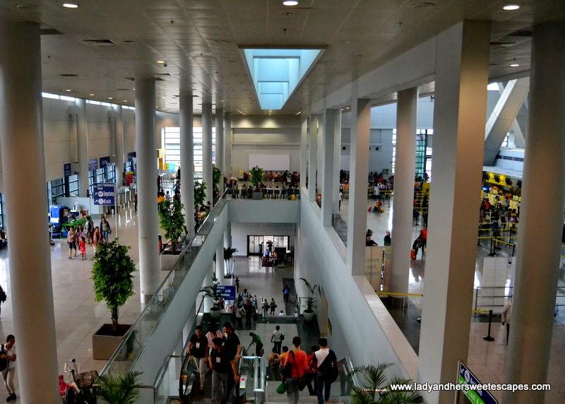 departure area at Ninoy Aquino International Airport Terminal 3