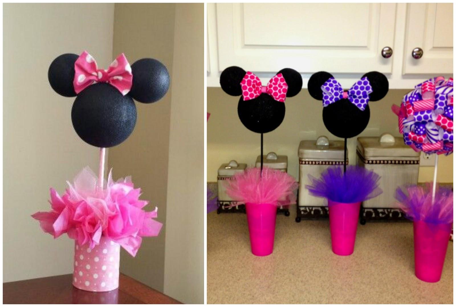 Minnie mouse decoracion de fiesta car interior design for Decoracion mesas fiestas