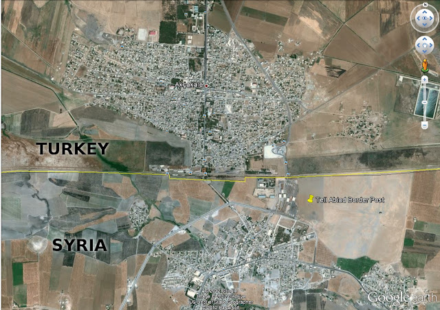 Western Propagandists Attempt to Trigger Catastrophic Turkish Syrian War Syria Turkey Border Akcakale