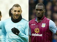 Arsenal 'line up £68million transfer deal for Christian Benteke and Karim Benzema