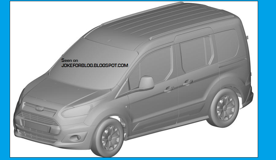 2013 - [Ford] Transit (Connect & MaxiVan) Ford+transit+connect+1