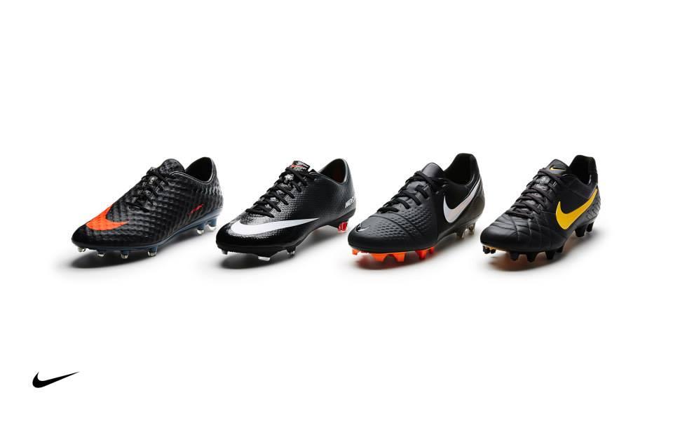 QUAL CHUTEIRA  Nike revela versões clássicas de sua principais chuteiras c1cd01ec741b9