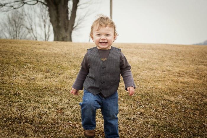 pic charlie smiling walking