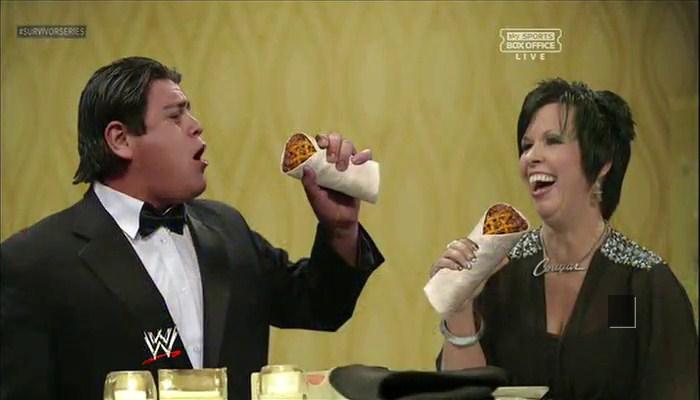 Ricardo Rodriguez and Vickie Guerrero