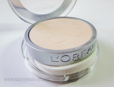 demonstration L'Oreal Paris Alliance Perfect Compact Powder