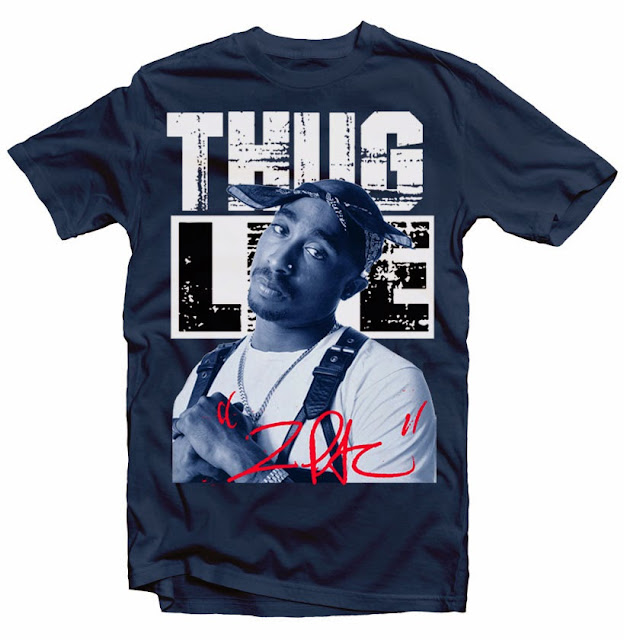 tupac tshirt design