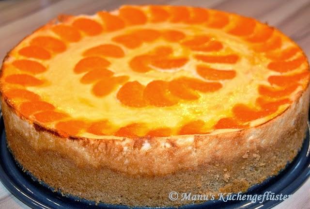 Manus Küchengeflüster: Käsekuchen mit Mandarinen