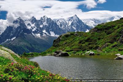 Cumbres de Monte Blanco Italia Francia