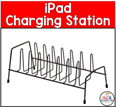 iPad charging station