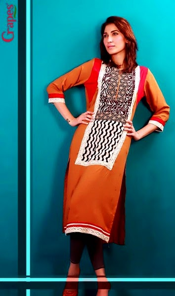 Multi-printed Embroidery-Lace Kurta
