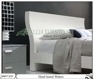 Head board Tempat Tidur Modern Minimalis Waters