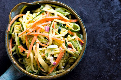 ... : http://www.homesicktexan.com/2012/06/zucchini-slaw-coleslaw.html