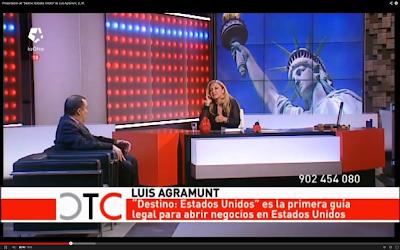 Luis Agramunt, Ll.M. en TeleMadrid