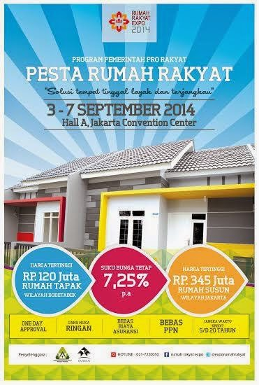 Pameran rumah murah bersubsidi 2014