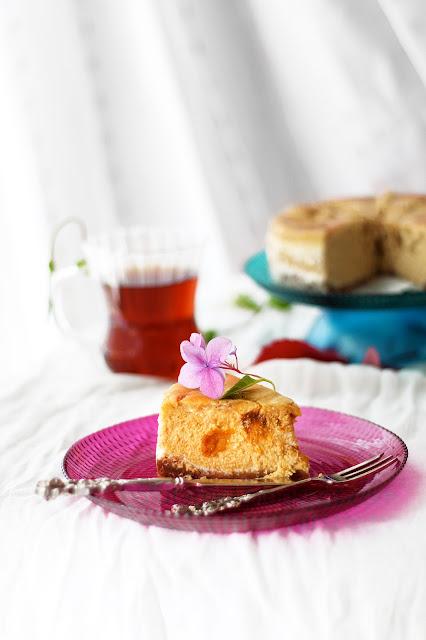 Baharatlı Balkabağı Püresi ile Balkabaklı Cheesecake tarifi