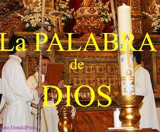 """Le y/o escucha """"LA PALABRA DE DIOS"""" en """"mayúsculas""""."""