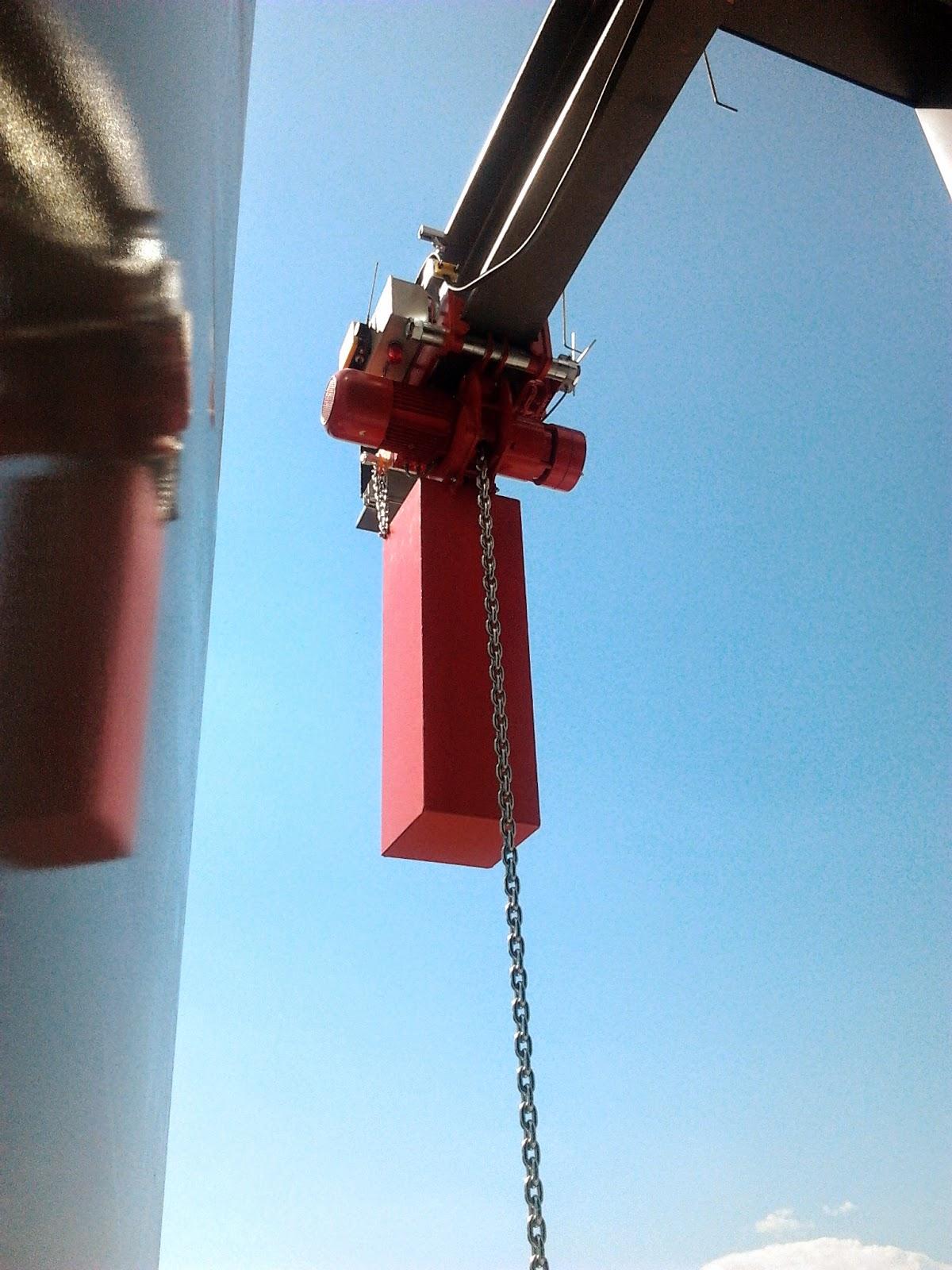 Kettenzug 5000 kg - 86,5 m - 4/8 m/min - ED 100%