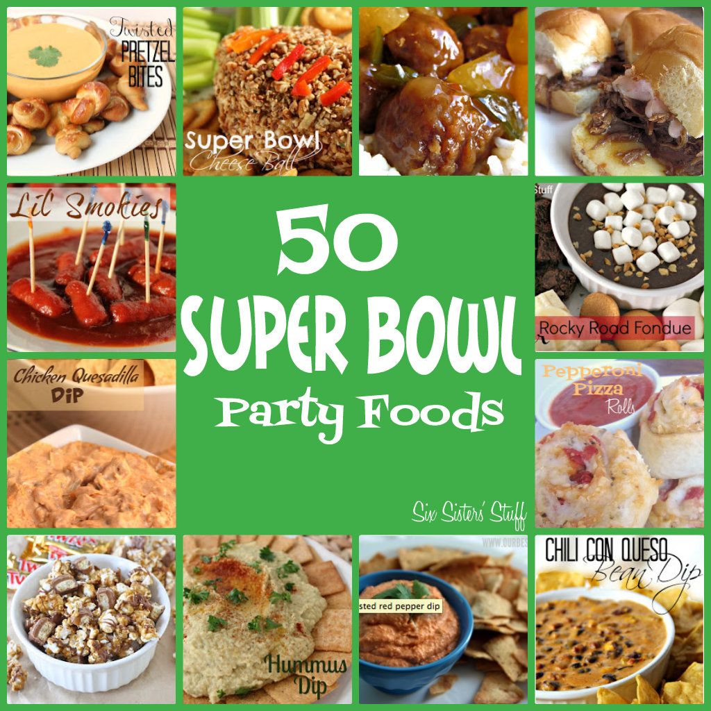 50 more delicious super bowl snacks and party foods six sisters 39 stuff. Black Bedroom Furniture Sets. Home Design Ideas
