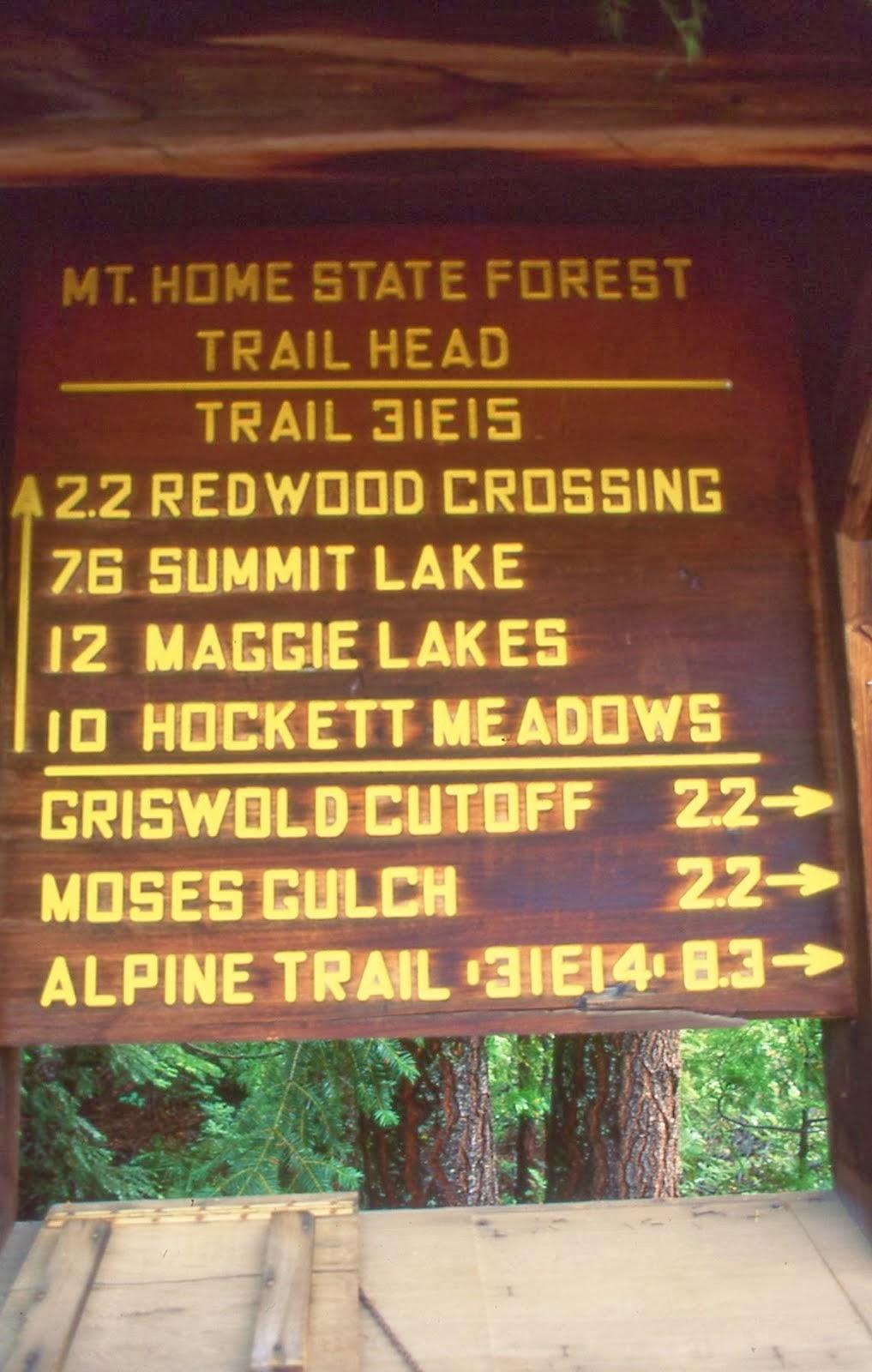 Trail Sign....Balch Park
