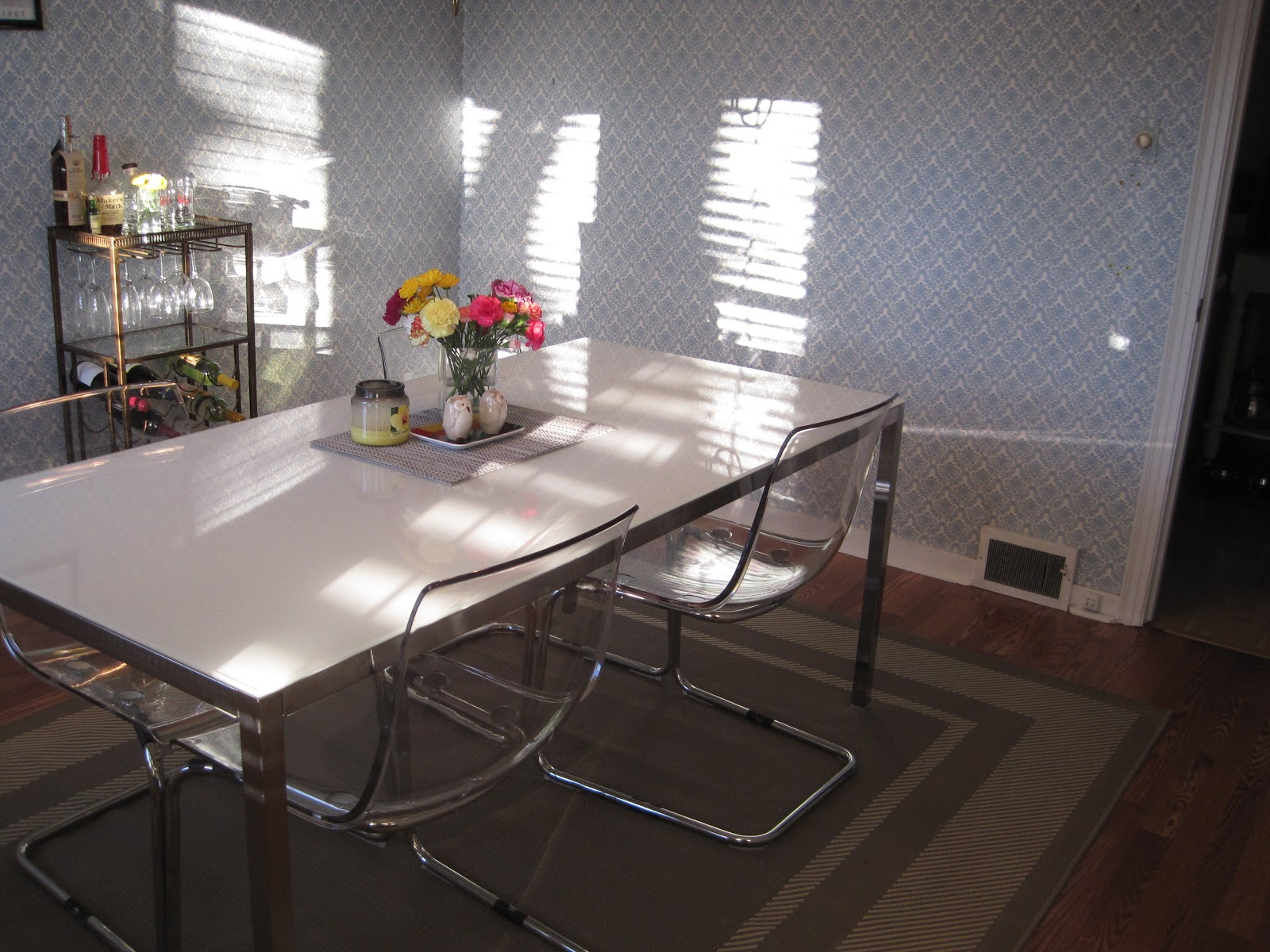 What I Like Clear Acrylic Chairs Giveaway