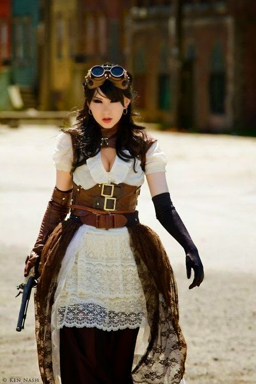 Steampunk Girls That Will Make You Love Cosplay Damn Cool Pictures