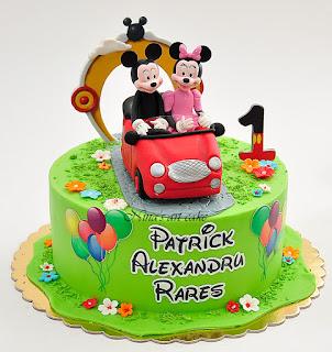 """Tort """" Mickey & Minnie"""" pentru Patrick"""