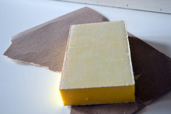 Sanding Block Sand Paper: Antique Toolbox Makeover | DIY Playbook