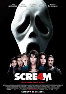 Cartel de la película Scream 4