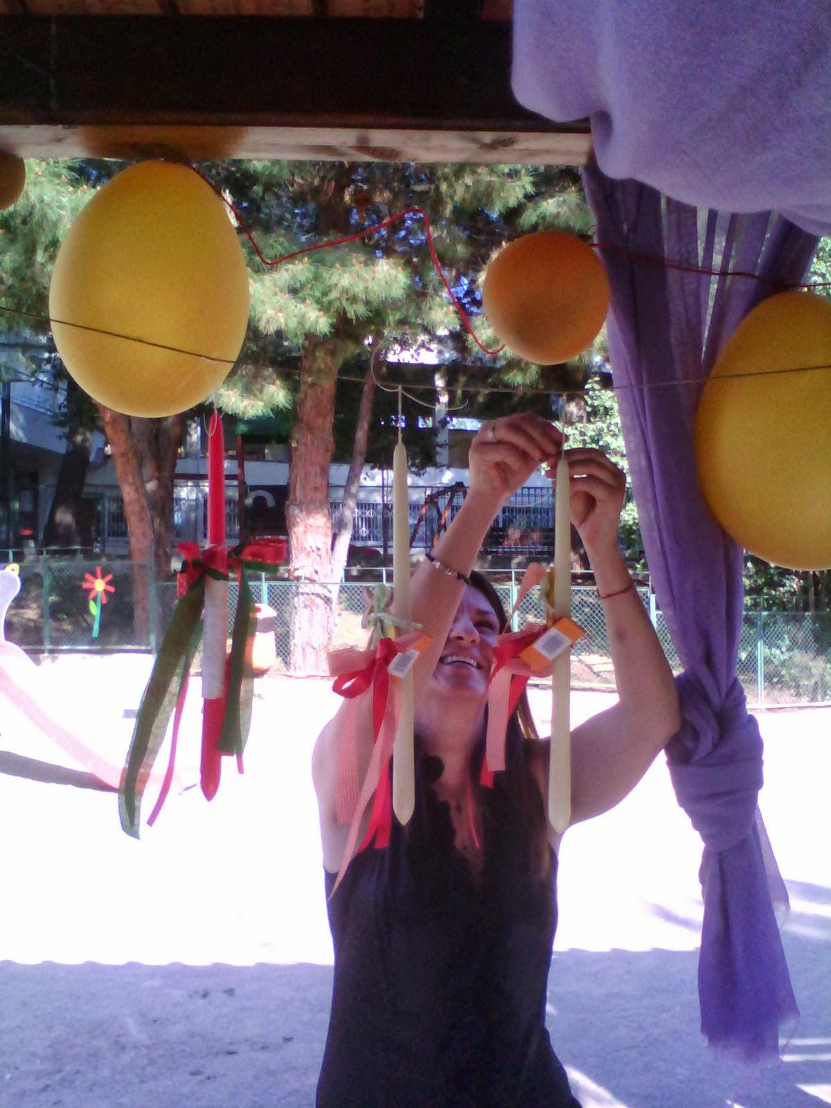 Επί το έργον για την προετοιμασία της γιορτής