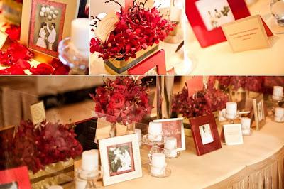 khung ảnh một vật dụng không thể thiếu trong trang trí tiệc cưới