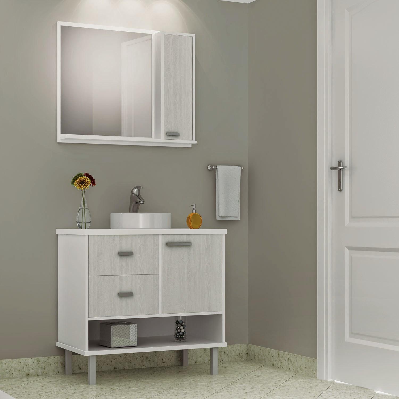 MC moveis planejados.: Balcão para banheiro sob medida. #A87423 1500 1500
