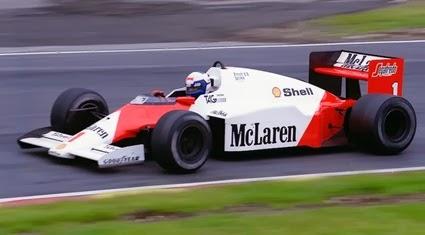 Formula 1 1986 Alain Prost/ Mclaren
