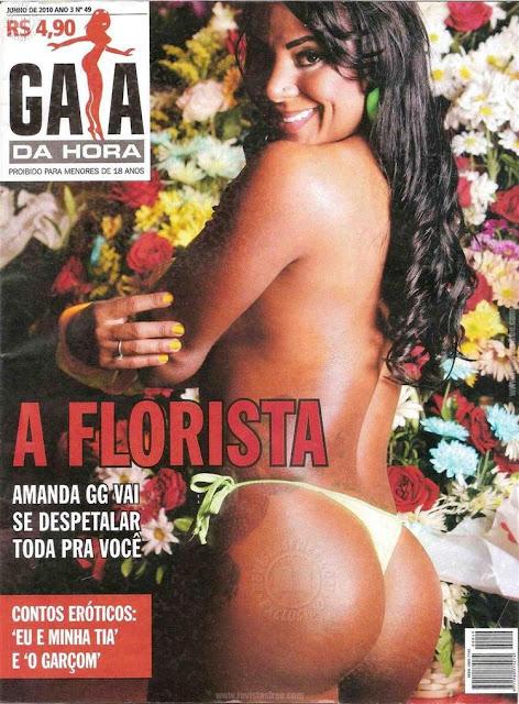 Amanda Romeu, A Florista nua