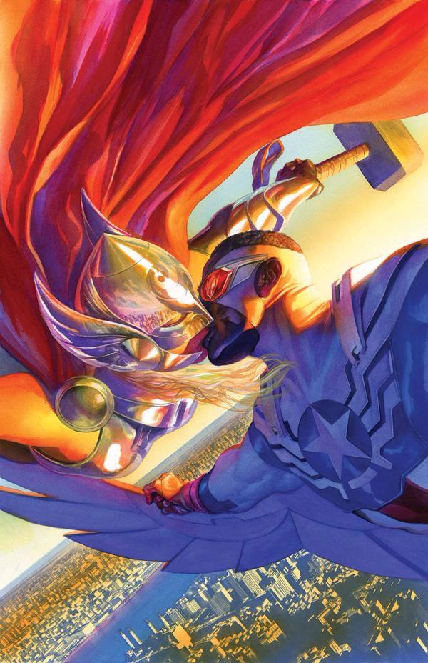 Thor Capitão América