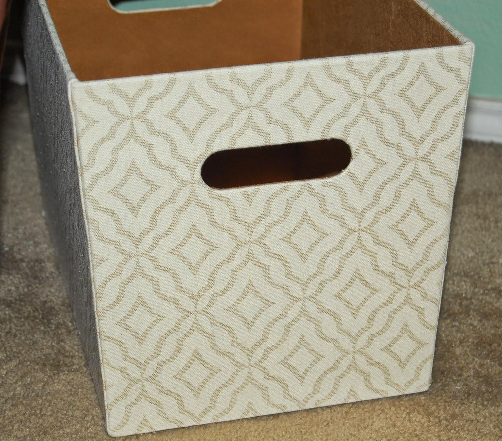 quatrefoil storage bins