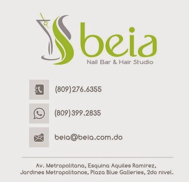 Mis cuidados de belleza siempre de las expertas manos de Beia Nail Bar & Hair Studio