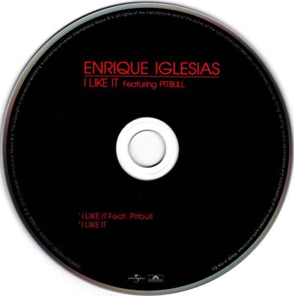 I Like It Enrique Iglesias: Vinyl-Video: Enrique Iglesias