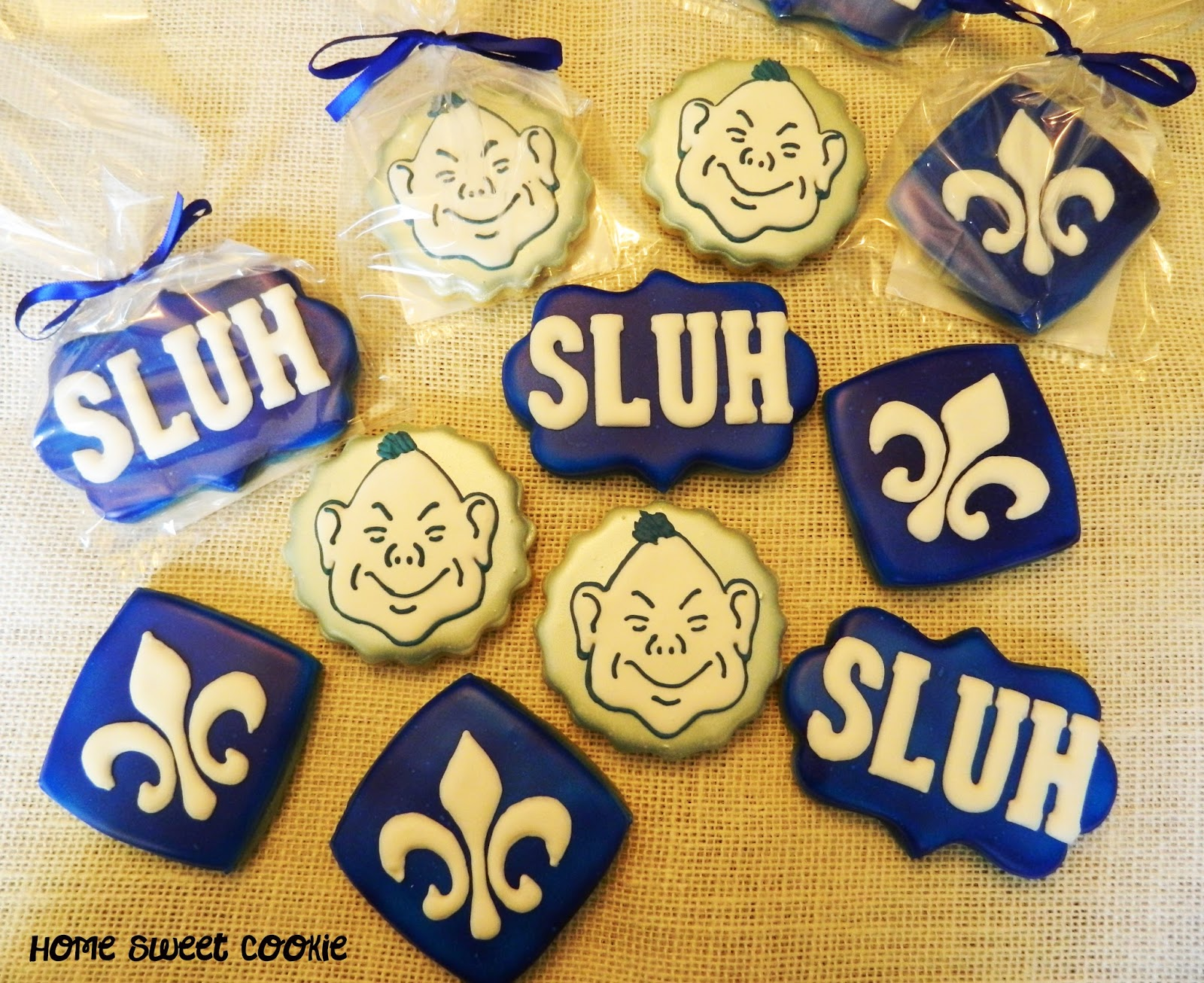 Home Sweet Cookie St Louis University High School cookies