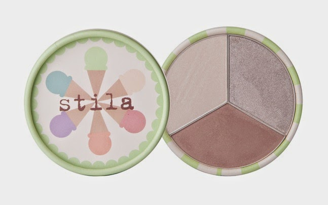 Stila Ice Cream Collection Eye Shadow Trio Rocky Road