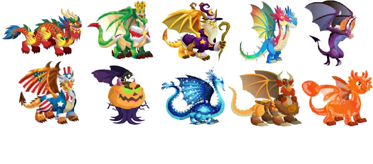 dragon city: Los dragones de dragon city